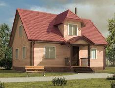 Каркасный дом 6.0x9.0 «Адмирал-1К»