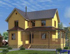 Дом из бруса 8х12 Альтаир-3