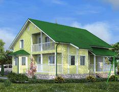 Каркасный дом 12х12.5 Аполлон-3К