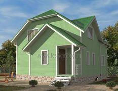 Каркасный дом 7х8.5 Азов-1К