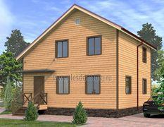 Дом из бруса 9х9 Бастион-3