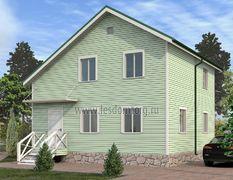 Каркасный дом 9х9 Бастион-3К