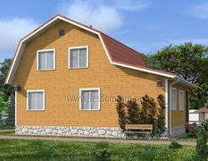 Дом из бруса 8х11 Боярин-3