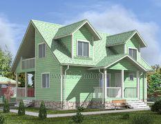 Каркасный дом 10.5х11 Чародей-3К