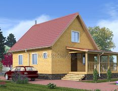 Дом из бруса 9.5х11.5 Классик-3