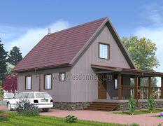 Каркасный дом 9.5х11.5 Классик-3К