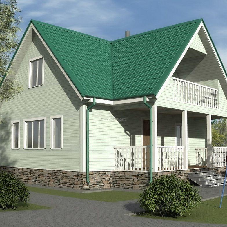 Каркасный дом 8х9 «Добрыня-2К»