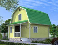 Каркасный дом 7х8.5 Эльбрус-3К