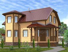 Дом из бруса 8х11 Конкорд-3