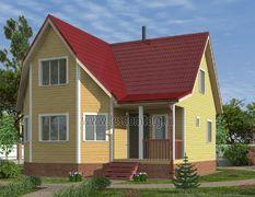 Каркасный дом 9х9.5 Олимп-3К