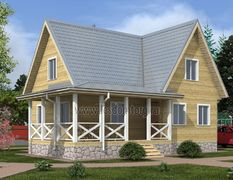 Каркасный дом 9х11.5 Калуга-3К