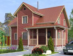 Каркасный дом 10.5х11.5 Терем-3К