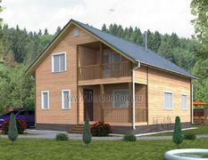 Дом из бруса 9х11 Василек-3
