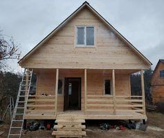 Каркасный дом: индивидуальный проект в сезонной комплектации