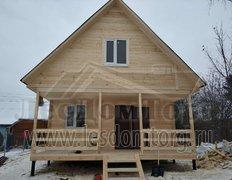 Каркасный дом Домодедово-2К  в сезонной комплектации