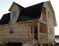 Дом из бруса, проект Карат-1Д