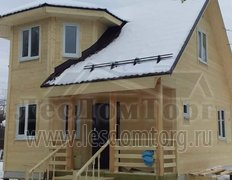 Каркасный дом, проект Флагман 2 К, зимняя комплектация (Московская область)