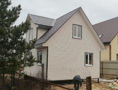 Каркасный дом Домодедово 2К, 6х8 м в сезонной комплектации (Чеховский район)