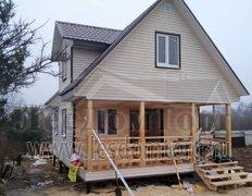 Каркасный дом, Домодедово 2К, 6х8 м, сезонная комплектация (Чеховский район)