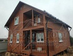 Каркасный дом Василек 1К, 7х9 м, комплектация зима (Раменский район)