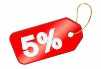 Скидка до 5 % на все проекты!