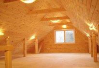 Особенности освещения в деревянных домах