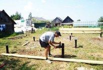 Подготовка перед строительством деревянного дома