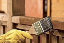 Правила нанесения защитной пропитки на древесину
