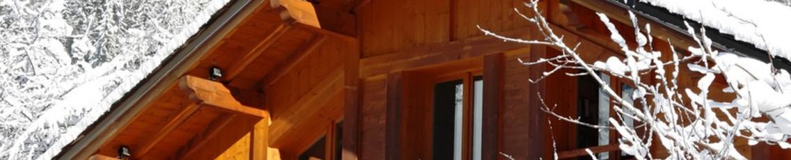Преимущества строительства загородных домов в зимний период