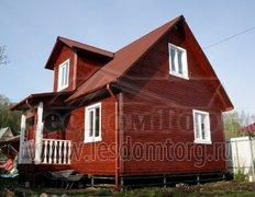 Каркасный дом, проект Адмирал-1К