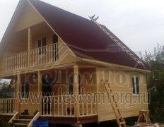 Каркасный дом, проект Байкал-2К