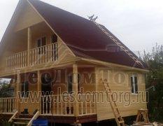 Каркасный дом, проект Байкал
