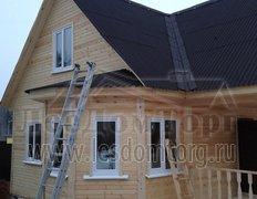 Каркасный дом, проект Добрыня-2К с эркером