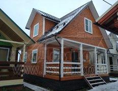 Каркасный дом, проект Домодедово, выставочный дом