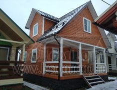 Каркасный дом, проект Домодедово