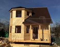 Каркасный дом, проект Флагман