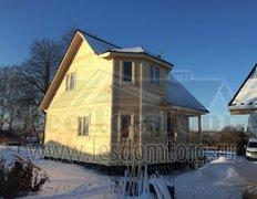 Двухэтажный каркасный дом, проект Флагман