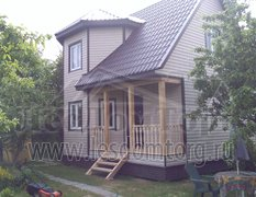 Каркасный дом, проект Флагман-1К