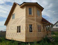 Каркасный дом, проект Флагман-2К