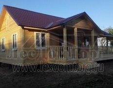 Каркасный дом, индивидуальный проект 11,5х8