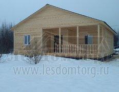 Каркасный дом, индивидуальный проект 11х10,5