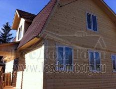Каркасный дом, индивидуальный проект 9х6,5