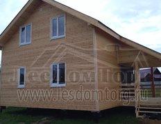 Каркасный дом, индивидуальный проект 9,5х8