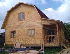 Каркасный дом, индивидуальный проект 9х8