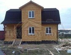 Каркасный дом, проект Ирис-2К