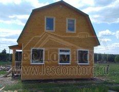 Каркасный дом, проект Иртыш-1К