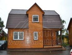 Каркасный дом, проект Карат