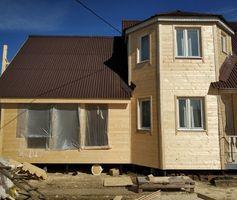 Каркасная пристройка к дому 7х7 м. Проект Флагман 2К