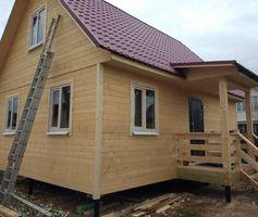 Каркасный дом размер 6х8 м. По проекту Алтай-1К