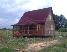 Каркасный дом с крыльцом, проект Кондор
